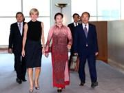 越南国会主席阮氏金银会见澳大利亚外长朱莉·毕晓普