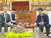 河内市领导会见德国亚太商业协会代表团
