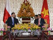 胡志明市人民委员会主席阮成峰会见波兰总统安杰伊·杜达
