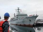 越中海军即将在北部湾海域进行第23次联合巡逻