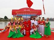 2017越南芒街—中国东兴北仑界河青年对歌联欢在北仑河源头举行