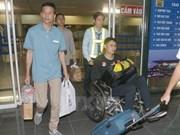 越南驻新西兰大使馆为被扣留船员办理回国手续