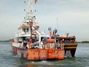 广义省成功牵引遇险渔船和7名渔民靠岸