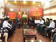 老挝色贡省向广南省灾民提供3亿越盾的援助资金