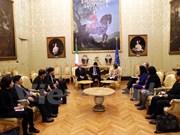 越南国会文化教育青少年和儿童委员会工作代表团访问意大利