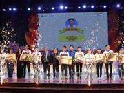 """第二次""""越南骄傲""""民族文化历史知识竞赛总结颁奖仪式在河内举行"""
