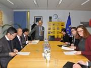 越南与欧盟共同努力 尽早就双边自由贸易协定达成一致