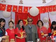 印度国际慈善义卖活动:越南美食颇受参观者好评