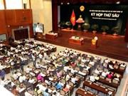 第九届胡志明市人民议会第六次会议正式拉开序幕