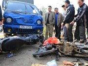 越南全国11个月7600多人因车祸死亡