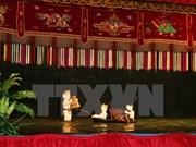 越南水上木偶戏受到法国观众的热烈欢迎