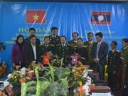 越老建交55周年:加强越南清化省与老挝华潘省老战士协会的合作