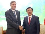 王廷惠副总理欢迎美国国际开发署为越南企业参加全球供应链提供协助