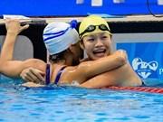 2017年世界残奥游泳锦标赛: 越南共夺得6枚奖牌