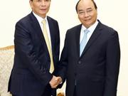 越南政府总理阮春福会见中国香港企业领导