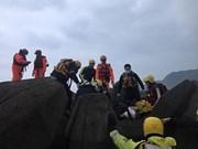 抓紧寻找在台湾南雅渔港失踪的越南船员