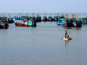 南定省开发海洋经济发展潜力