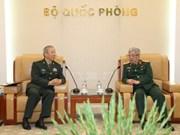 阮志咏上将会见中国人民解放军南部战区代表团
