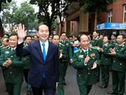 国家主席陈大光:边防部队需在捍卫国家主权边界及岛屿安全中发挥核心作用