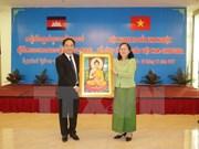 越柬建交50周年:越南与柬埔寨分享宗教工作经验