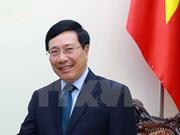 越南政府副总理兼外长范平明即将对韩国进行正式访问