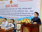 阮氏金银主席:掌握地方实情 提高人民议会决议贯彻执行质量效益