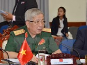 越柬建交50周年:第三次越柬副部长级国防政策对话在柬举行