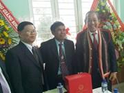 越南领导代表向信教群众致以圣诞祝福