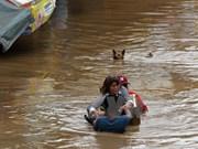 """台风""""天秤"""" 袭菲律宾 一小村从地图上消失"""