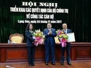 越共中央政治局关于干部任免决定