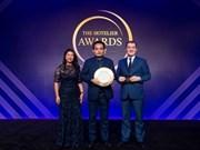 越南厨师首次获得亚洲最优秀厨师奖