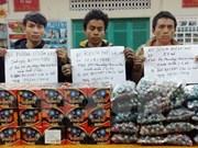 查获一起非法运输64公斤爆炸物案件