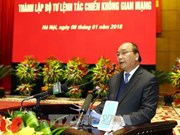 越南政府总理阮春福: 建设一支现代化网络空间作战力量