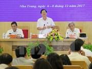 越南政府副总理张和平就完善《关于成立北云峰特别经济行政区提案》作出指示
