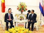 越柬一致同意加快陆地边界勘界立碑工作进度 力争尽早完成该工作