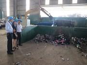 平阳废弃物综合处理园区第二期工程竣工投运