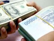 16日越盾兑美元中心汇率下降10越盾