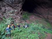 广平省开通世界第四大洞穴探险旅游线路