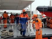 海上遇险的11名越南渔民获救