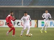 越南与叙利亚握手言和  晋级U23亚洲杯1/4决赛