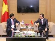亚太议会论坛第26届年会:国会副主席冯国显会见韩国国会代表团
