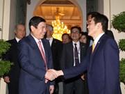 胡志明市与日本爱媛县促进合作关系