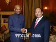 政府总理阮春福会见印度总统考文德