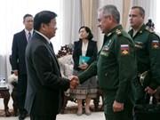 老挝与俄罗斯加强防务合作