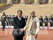印度与柬埔寨签署4项合作协议