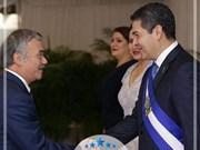 洪都拉斯总统希望推动与越南的关系