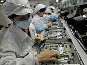 2017年越南对欧盟市场的手机及零件出口额达119.6亿美元