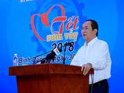 国家主席陈大光: 关心关爱工人和劳动者 注重提高其生活水平