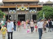 2018年1月份顺化古都遗迹区接待国际游客同比增长30%