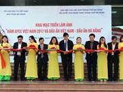 """""""2017年APEC会议和越南与岘港的烙印""""图片展在岘港市举行"""